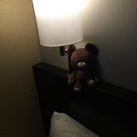APA Hotel Tokyo Kudanshita: ベッドサイドランプ