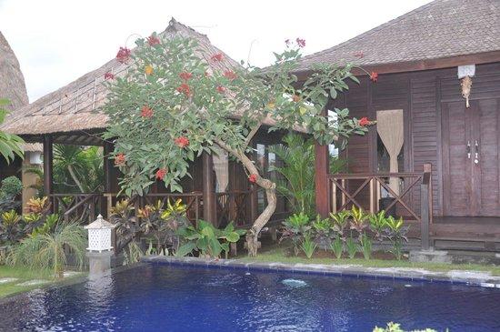Kubu Diuma Villa : One bed room bungalow