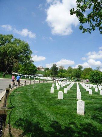 Arlington National Cemetery: parte del recorrido