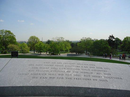 Arlington National Cemetery: paisajes