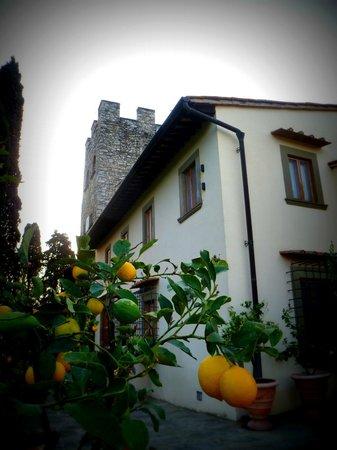 Castello di Verrazzano: The house
