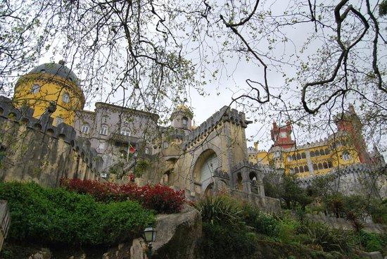 Palais national de Pena : O palácio