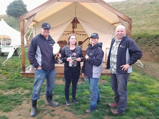 Ridge Top Farm Glamping & Farm Walk: The winning team for the corporate challenges