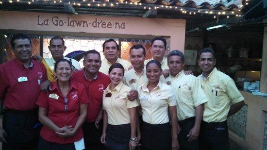 La Golondrina Restaurant : The Service Family