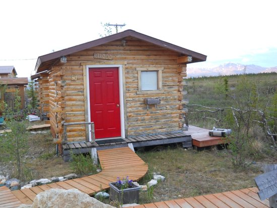 EarthSong Lodge - Denali's Natural Retreat : Our Cabin!
