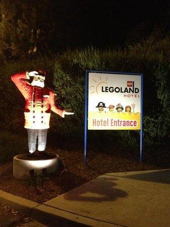 LEGOLAND California Hotel: chegamos