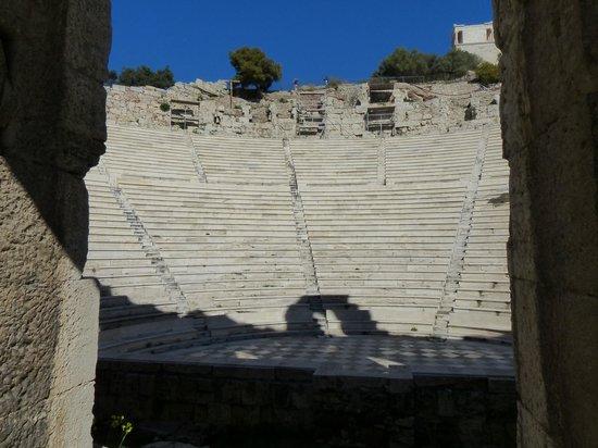 Herod Atticus Odeon: Interior