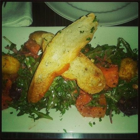 The Belworth House: Roasted squash and beet salad, YUM!