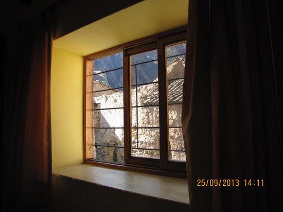 Café Restautante Hostal Kiswar: Vista desde la ventana de la habitacion