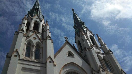 Catedral de San Juan Bautista: View from the bottom
