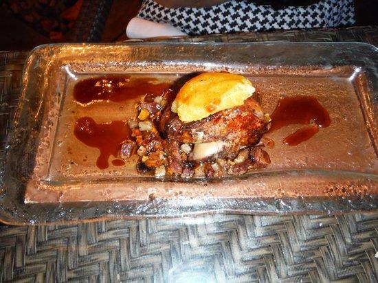 Ortanique: foie gras