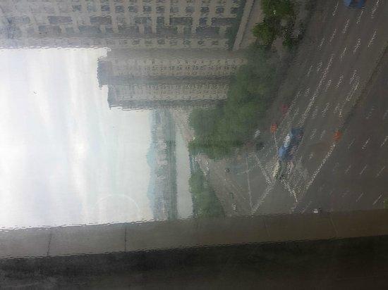 Hotel Riviera Seoul: エレベータホールからの眺め