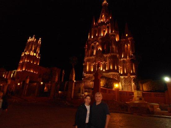 Hotel del Portal San Miguel: Parroquia de San Miguel Arcangel