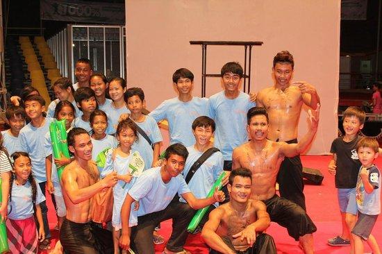 Phare, The Cambodian Circus: Taramana kids and artists from Phare Cambodian Circus