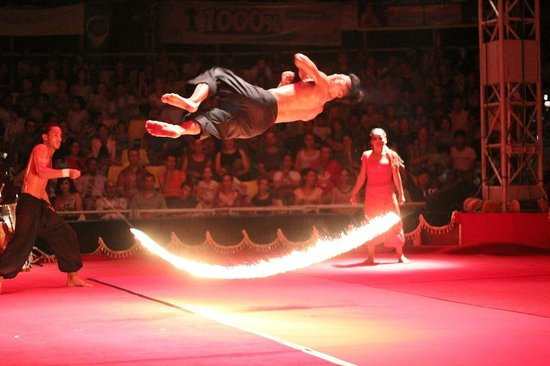 """Phare, The Cambodian Circus: From """"Eclipse"""" show from Phare Ponleu Selpak troop"""