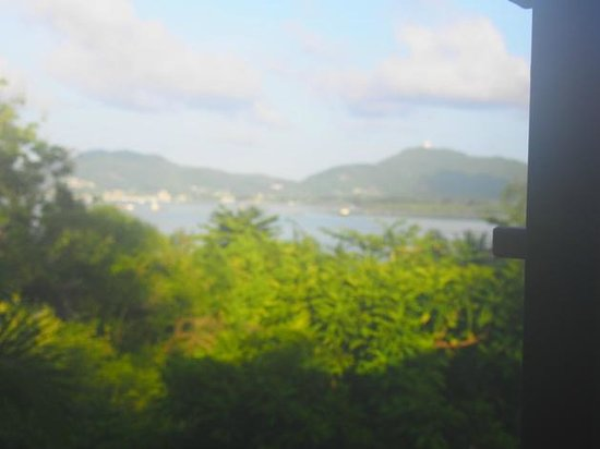 The Mangrove Panwa Phuket Resort: The View from our Deluxe Pavilion Room