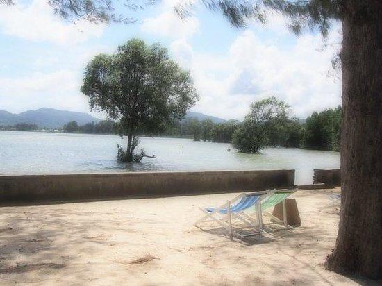 The Mangrove Panwa Phuket Resort: View from beach front area
