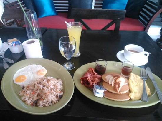 The Theodore Hotel: 2nd day breaky