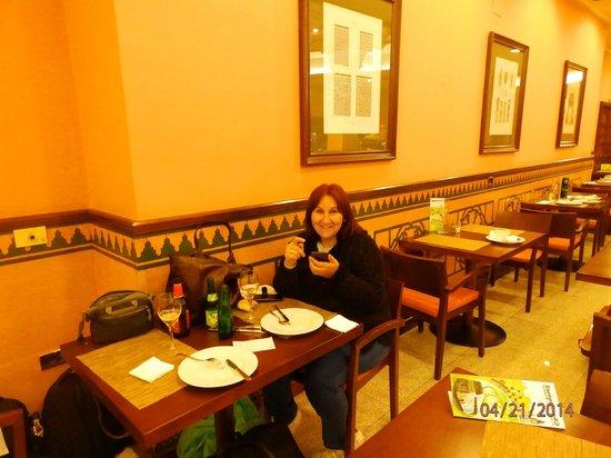 Saray Hotel: comedor