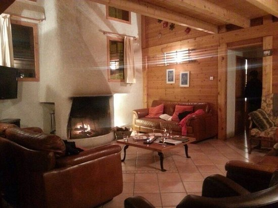 Chalet Peisey: The sitting room