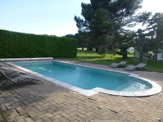La Piverdiere : la piscine
