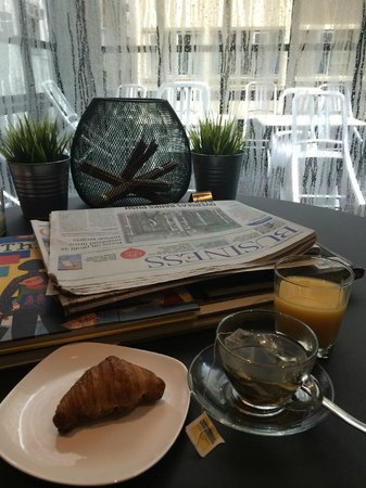 Residence G Hong Kong (by Hotel G) : Breakfast time 7.00-10.00 am