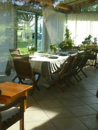 La Piverdiere : La salle à manger
