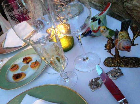 Hotel Le Saint Paul: Wonderful Dinner