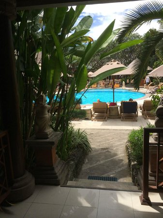 Ramayana Resort & Spa: pool veiw from out cottage