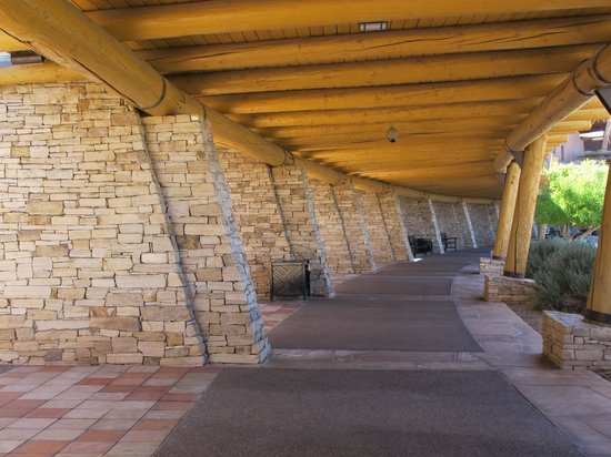 Sandia Casino & Resort: Part of the exterior.