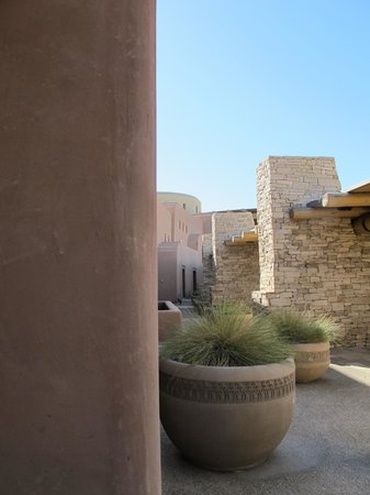 Sandia Resort & Casino: Part of the exterior area.
