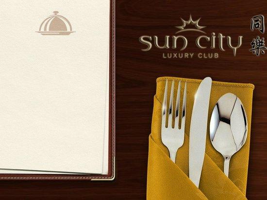 Sun City Luxury Club Restaurant: Sun City iPad Menu