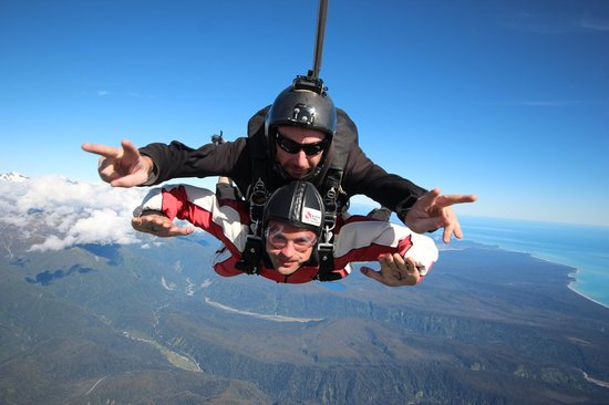Skydive Franz: 'Awesome'