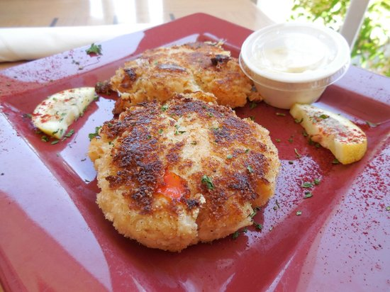 Harbor View Cafe: Crabcakes