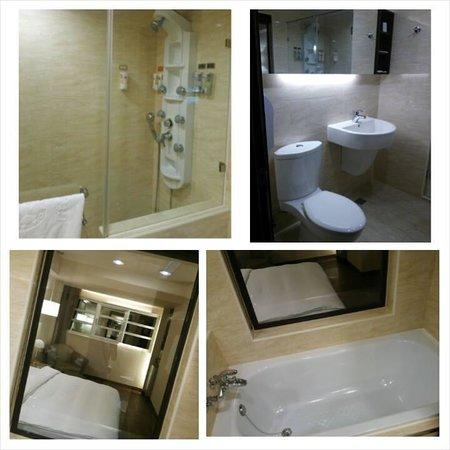 Kindness Hotel Qixian: バスルーム