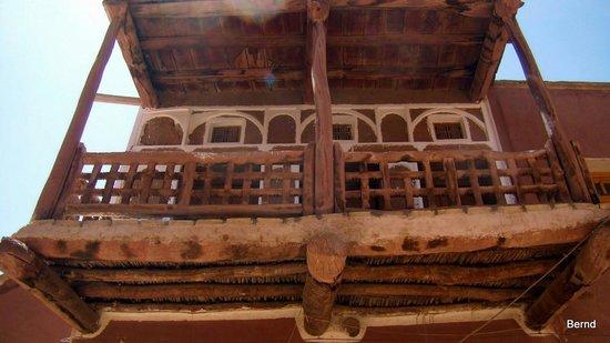 Abyaneh Village : Balkon