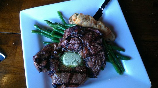 The Horn : Rib Eye Steak