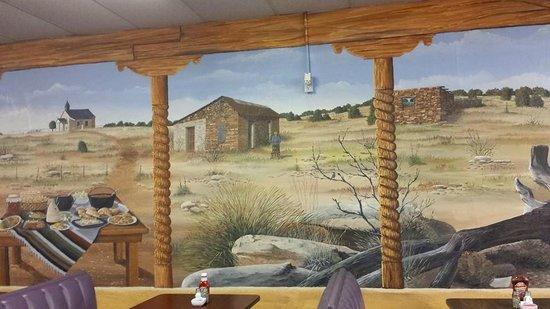 El Herradero : Mural by Doug and Sharon Quarrels