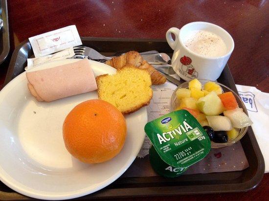 Hotel balladins Lyon/Dardilly : Qualche cosa della colazione