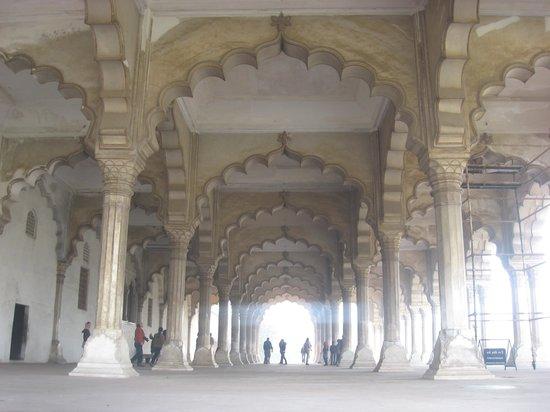 Agra Fort: Diwan-i-am