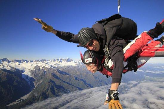 Skydive Franz: Fantastic Glacier Views!!
