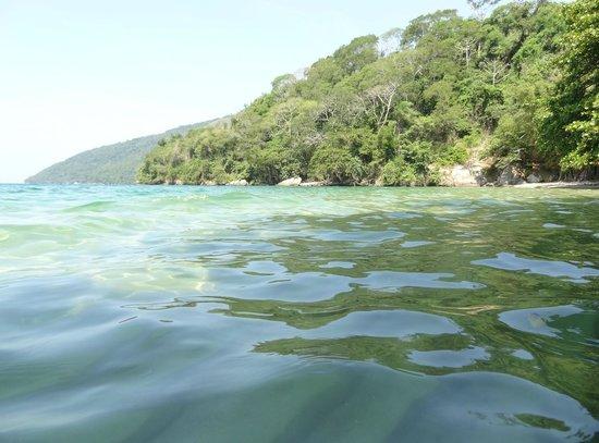 Estrela da Ilha: Praia de Grumixama/praia de Baixo /Araçá 15 minutos na mesma trilha.