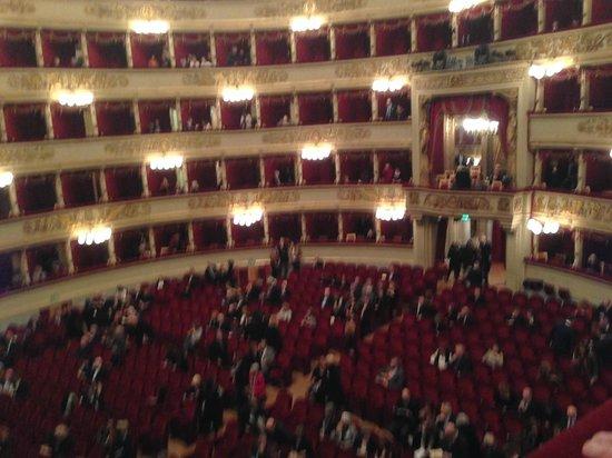Scala de Milan (Teatro alla Scala) : В предвкушении....