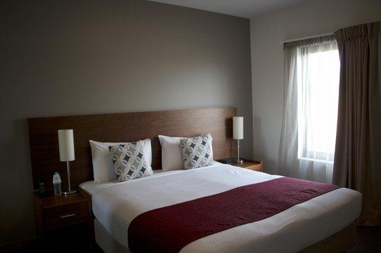Quest Albury : Bedroom - 1 bedroom apartment