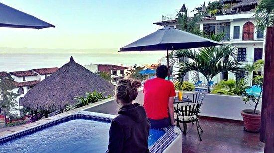Villas Loma Linda: Morning whale watching
