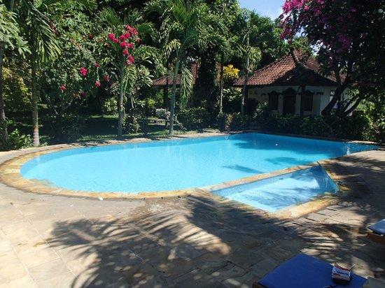 Kusuma-Jaya-Indah Resort: La piscine et deux bungalows