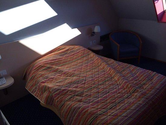 Hotel Dupleix : Le lit deux places