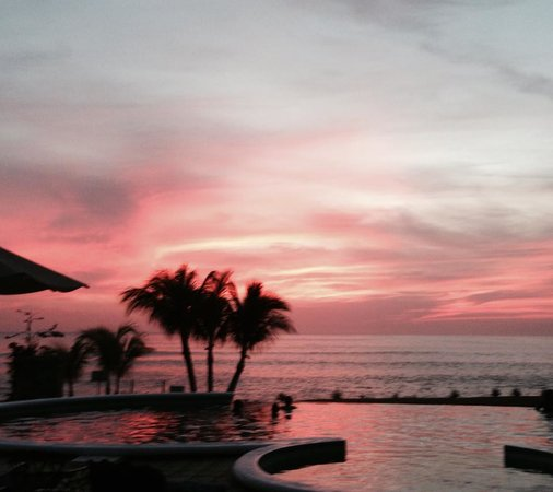 Gran Pacifica Beach and Golf Resort : Sunset at Gran Pacifica Milagro del Mar