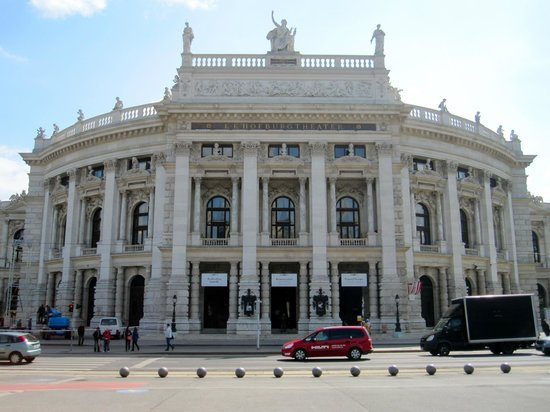 Ringstrasse: Burgtheater on the Ring