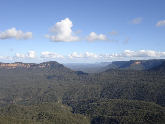 Echo Point Lookout: What an amazing panorama!